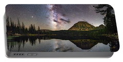 Milky Way At Mirror Lake Portable Battery Charger