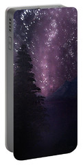 Milky Way Lake Portable Battery Charger