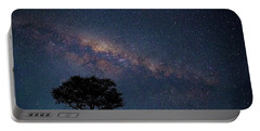 Milky Way Over Africa Portable Battery Charger