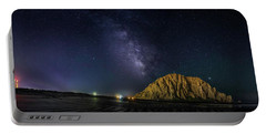 Milky Way Over Morro Rock Portable Battery Charger