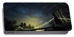 Milky Way Over The Wire Bridge Portable Battery Charger