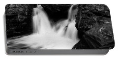 Mill Falls Monochrome Portable Battery Charger