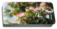 Mimosa Tree Flowers Portable Battery Charger