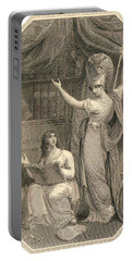 Minerva Directing Study To The  Attainment Of Universal Knowledge Portable Battery Charger