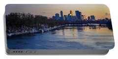 Minneapolis Skyline Portable Battery Charger