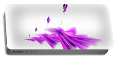 Missile Command Purple Portable Battery Charger