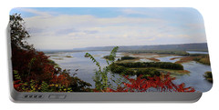 Mississippi River In The Fall Portable Battery Charger