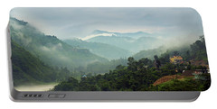Misty Mountains Portable Battery Charger