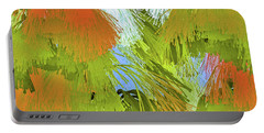 Modern Art   Tropical Flare  Abstract Portable Battery Charger