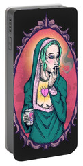 Modern Mary Portable Battery Charger