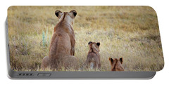 Mom And Cubs Portable Battery Charger