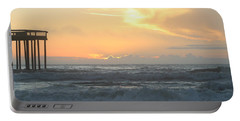Portable Battery Charger featuring the photograph Moment Before Sunrise by Robert Banach