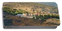 Monastery Agion Anargiron Above Argos Portable Battery Charger