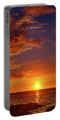 Monday Sunset Portable Battery Charger