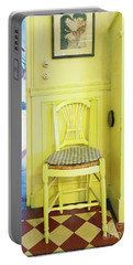 Monet's Kitchen Yellow Chair Portable Battery Charger