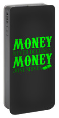 Money Just Moves Portable Battery Charger