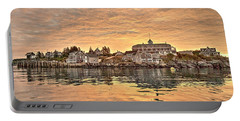 Monhegan Sunrise - Harbor View Portable Battery Charger