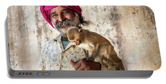 Monkey Temple Portable Battery Charger