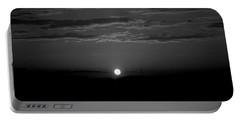 Monochrome Sunrise Portable Battery Charger