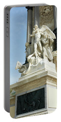 Monument To Alfonso Xii - Retiro Park, Madrid Portable Battery Charger