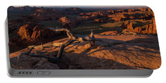 Monument Valley From Hunts Mesa Portable Battery Charger