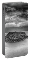 Portable Battery Charger featuring the photograph Moody Sky by Chris Cousins