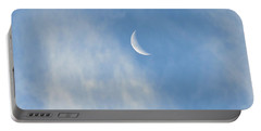 Moon In Libra - Crescent Farewell Portable Battery Charger