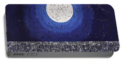 Moonbathing Original Painting Portable Battery Charger