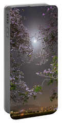 Portable Battery Charger featuring the photograph Moonlight And Magic by Rachel Lee Young