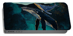 Moonlit Whales Portable Battery Charger