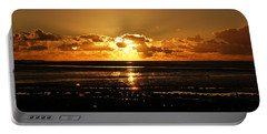 Morecambe Bay Sunset. Portable Battery Charger