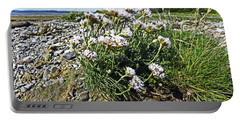 Morecambe. Hest Bank. Sea Thrift. Portable Battery Charger