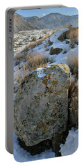 Morning At The Book Cliffs Portable Battery Charger