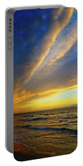 Portable Battery Charger featuring the photograph Morning Drama by Lynn Bauer