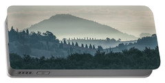 Morning Hills Of Toscany Portable Battery Charger
