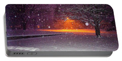 Morning Snow Portable Battery Charger