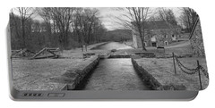 Morris Canal And Lock - Waterloo Village Portable Battery Charger