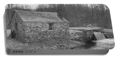 Morris Canal Lock House - Waterloo Village Portable Battery Charger
