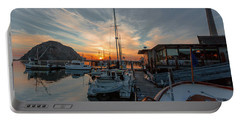 Morro Bay Sunset Portable Battery Charger