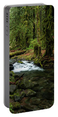 Mossy Cascade Portable Battery Charger