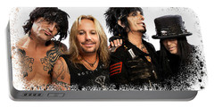 Motley Crue Portable Battery Charger