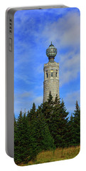 Portable Battery Charger featuring the photograph Mount Greylock Tower From Bascom Lodge by Raymond Salani III