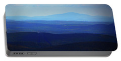 Portable Battery Charger featuring the photograph Mount Monadnock From Mount Greylock by Raymond Salani III