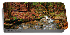 Portable Battery Charger featuring the photograph Mountain Creek In Ma by Raymond Salani III