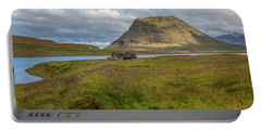 Mountain Top Of Iceland Portable Battery Charger