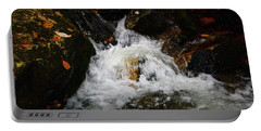 Portable Battery Charger featuring the photograph Mountain Water by Raymond Salani III
