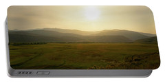 Portable Battery Charger featuring the photograph Mountains At Dawn by Nicole Lloyd