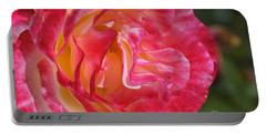 Movement Within The Pink Rose Portable Battery Charger