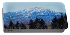 Mt. Monadnock Spring Snow Portable Battery Charger