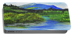 Mt. Monandnock From Scott Brook Portable Battery Charger